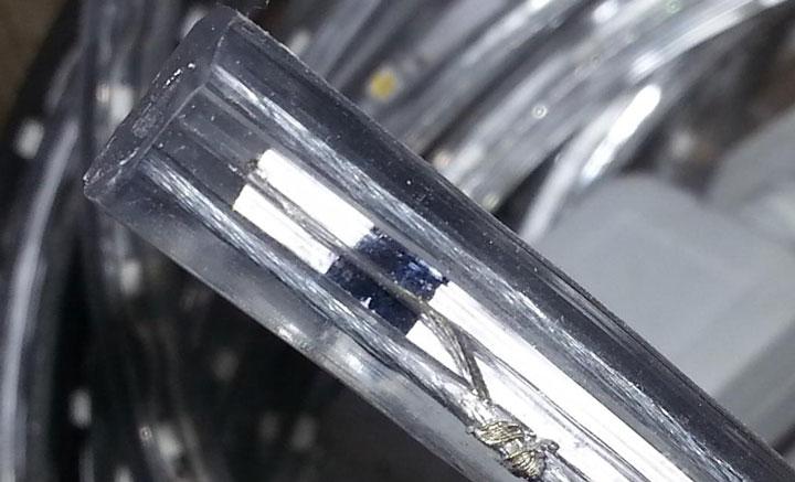 силиконовое покрытие ленты 220В