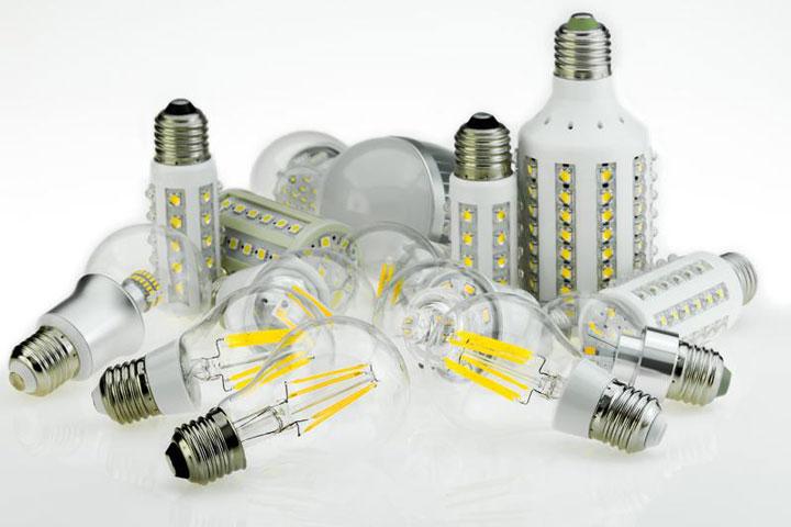 различные лампочки