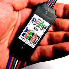 микроусилитель для светодиодных лент