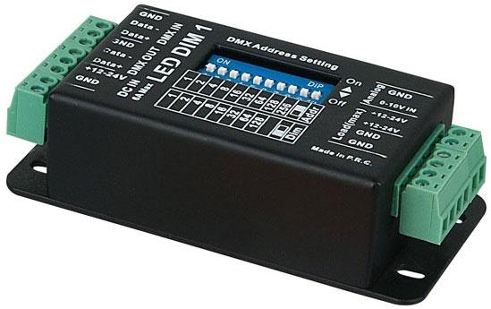 контроллер DMX для эффекта бегущей волны в светодиодной ленте