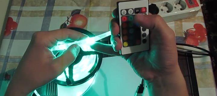 разноцветная smd 3528/60 led зеленый цвет