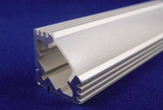 профиль угловой для светодиодной ленты из алюминия