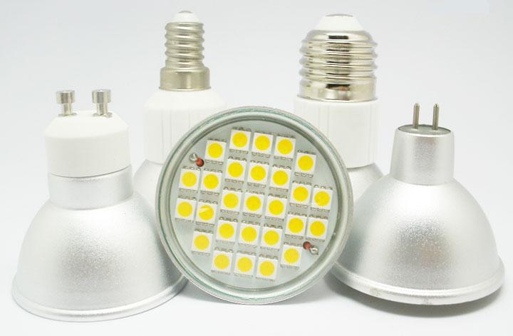 лампочки для точечных светильников в потолок