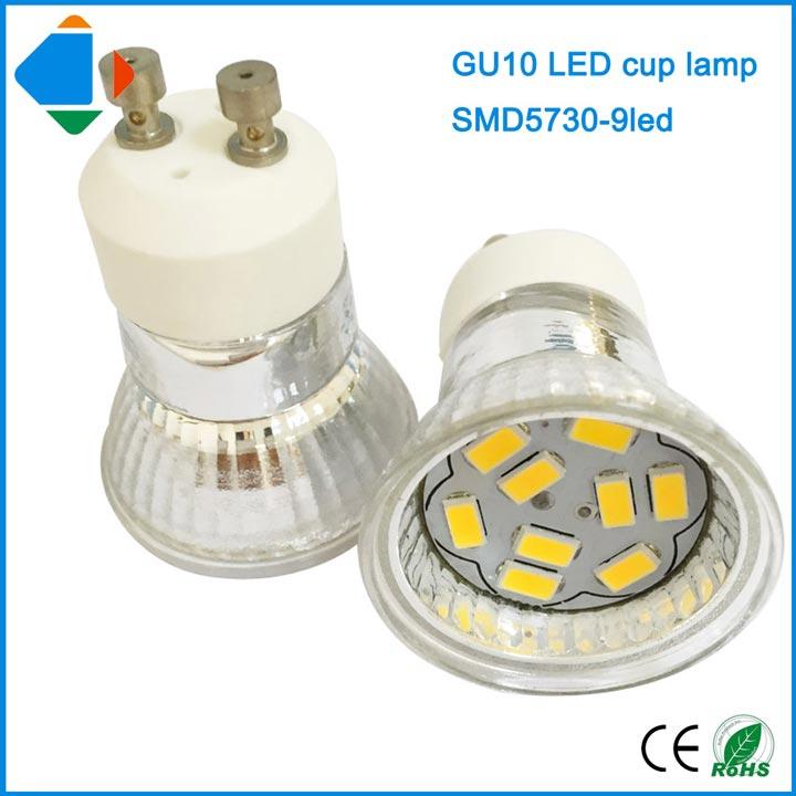 точечные светодиодные лампы GU10