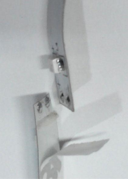 совмещение светодиодной ленты внахлест