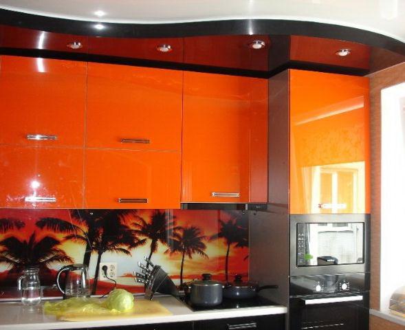 размещение светильников на кухне