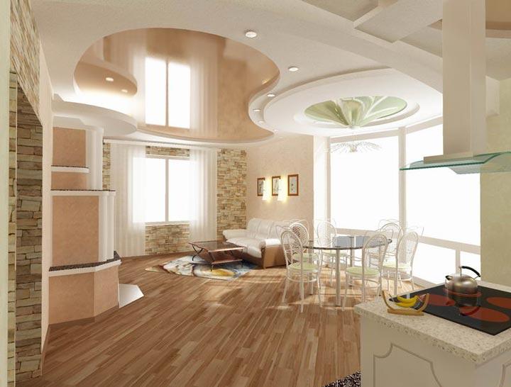 кухня и размещение светоточек