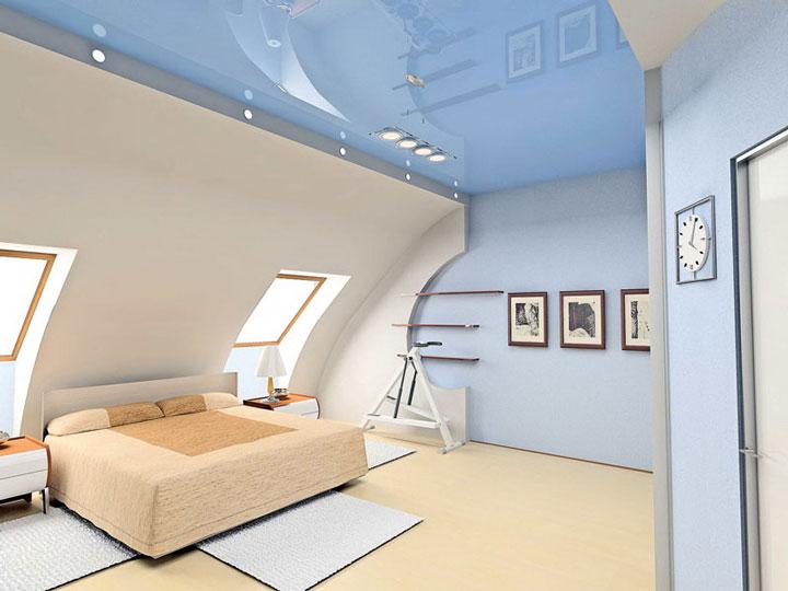 схемы освещения спальни