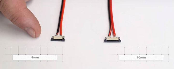 коннекторы с шириной 8мм и 10мм
