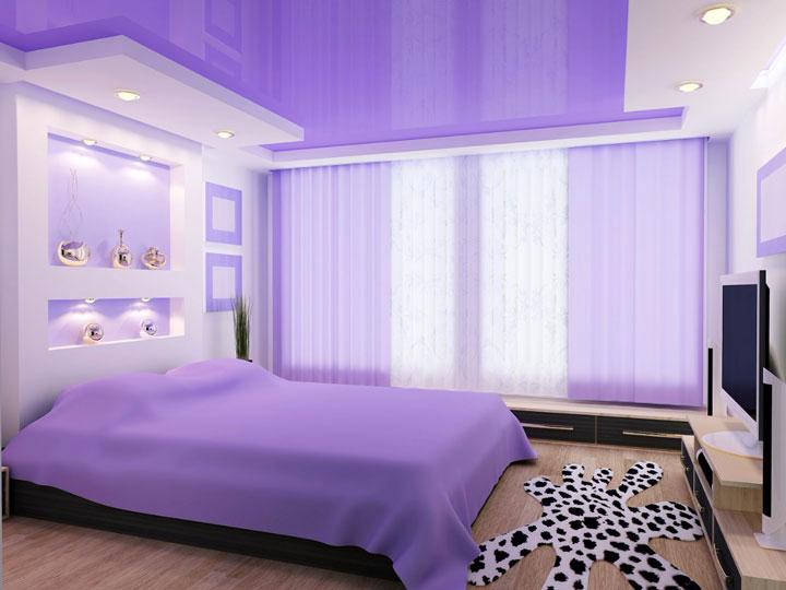 где разместить светильники в спальне