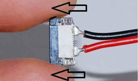 подключение светоидодной ленты через прижимной коннектор