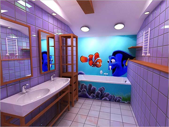 варианты освещение ванной комнаты