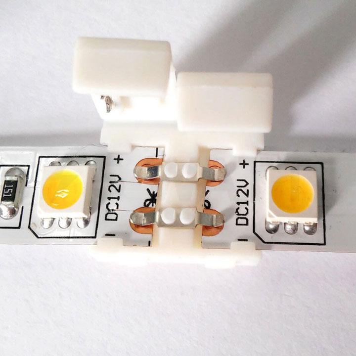 коннекторы для непосредственного соединения светодиодных ленты между собой на прямых участках