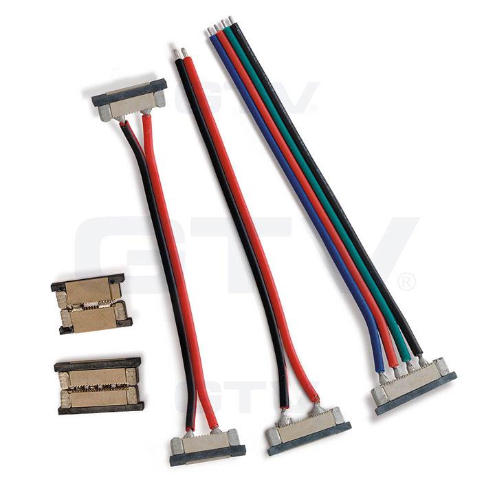 прижимные коннекторы для светодиодных лент