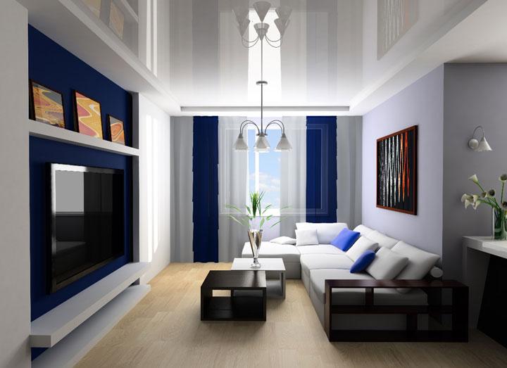 рисунок светильников в зале