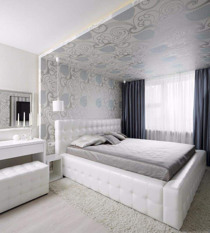 расположение светоточек в спальной комнате