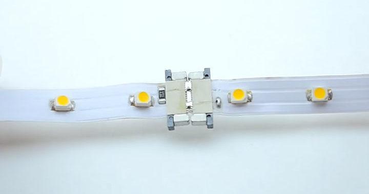 соединение светодиодных лент