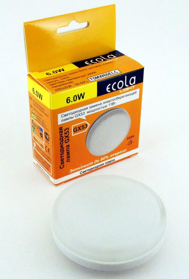 светильник Ecola GX53 6Вт