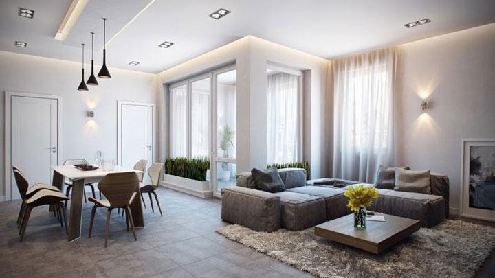 освещение жилых комнат 150 люкс
