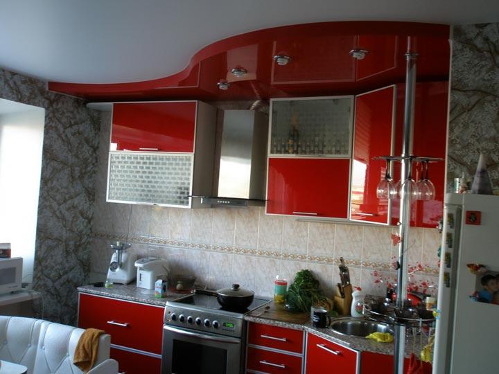 светильники размещение на кухне