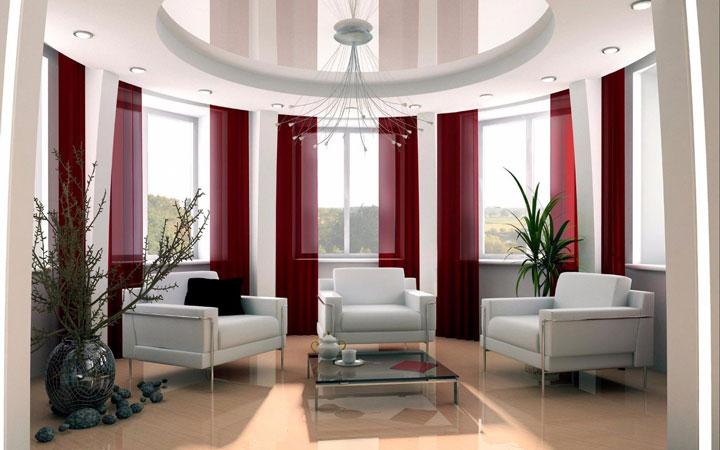 освещение в зале квартиры как лучше
