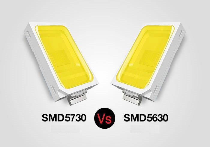в чем разница между светодиодной лентой SMD 5630 и SMD 5730