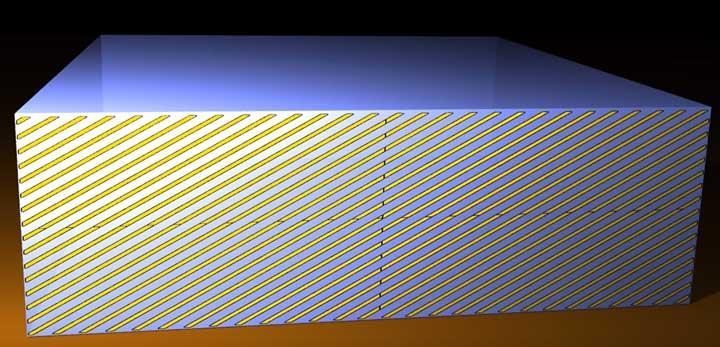 полезная площадь охлаждения в зависимости от площади кристалла