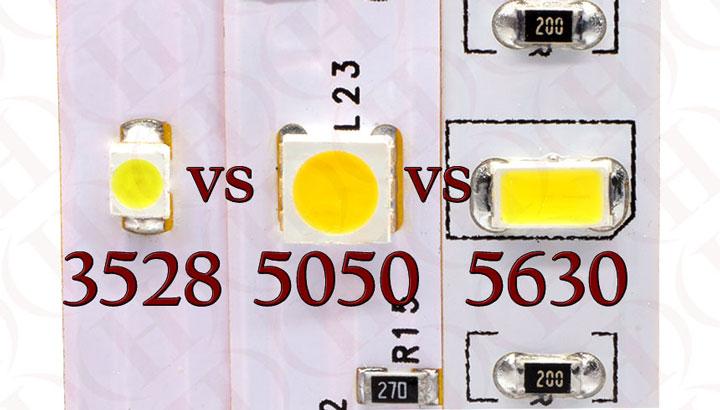 светодиодо смонтированный на подложку ленты SMD 5630