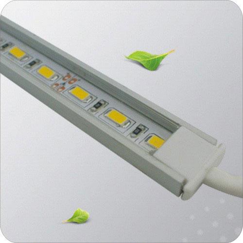 монтаж светодиодной ленты SMD 5630, 5730 в алюминиевом профиле