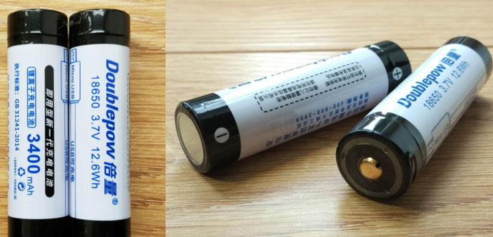 аккумуляторные батарейки 18650 для подключения светодиодной ленты
