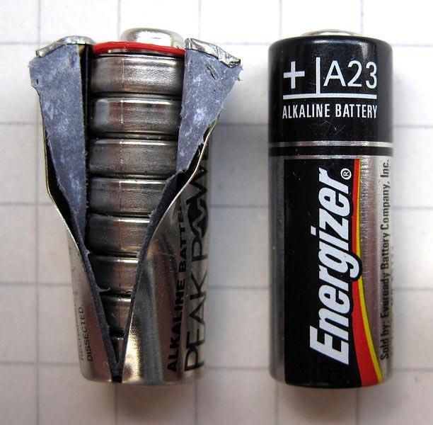 многогразовая аккумуляторная батарейка 12В А23
