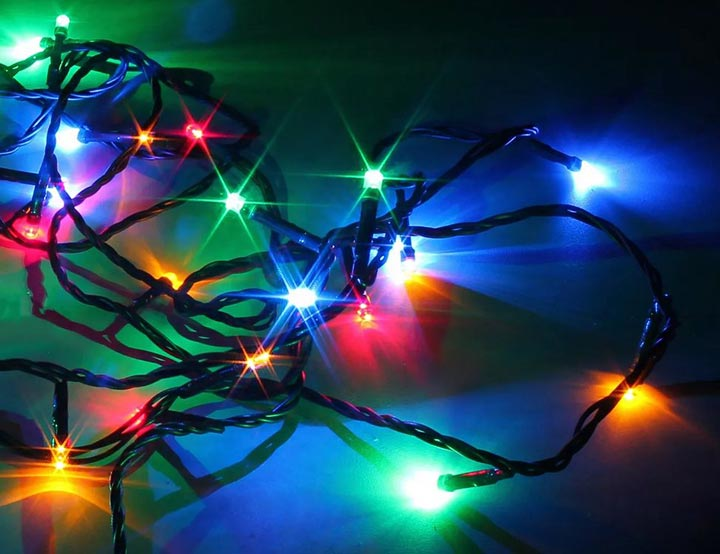 светодиодные гирлянды нити
