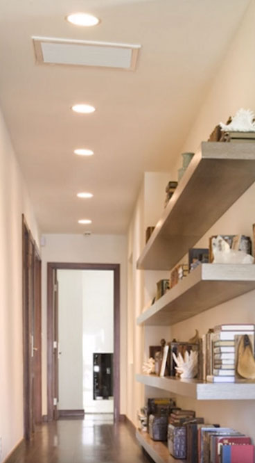 подсветка потолка коридора