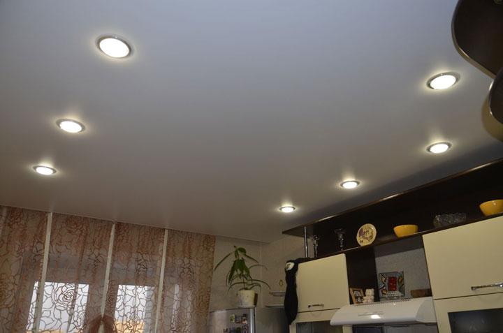 самая простая схема подсветки кухни