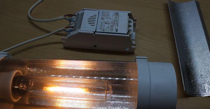 подключение лампы днат от четырехконтактного дросселя