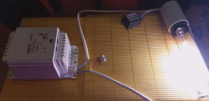 дроссель для запуска натриевой лампы