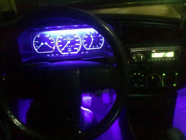 подсветка панели приборов