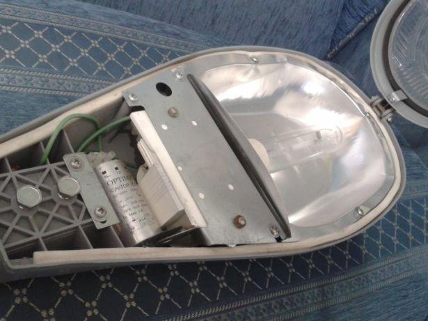 лампа светильник с натриевой лампой