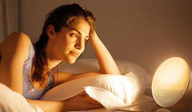 светодиодный будильник