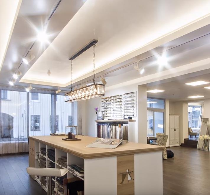 трековое освещение в домашних условиях на кухне