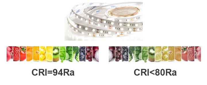 выбор цвета для светодиодной ленты
