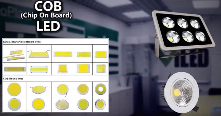 COB светодиоды отличия и характеристики