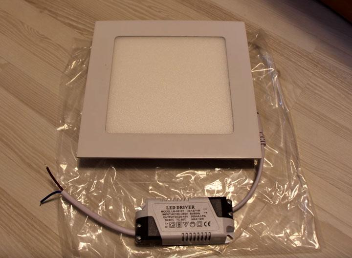 внешний драйвер для подключения светодиодной панели