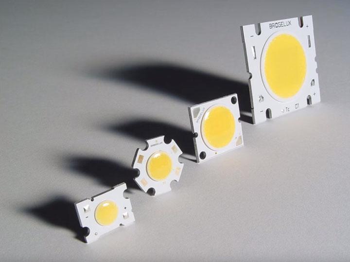 cob светодиоды их виды и характеристики