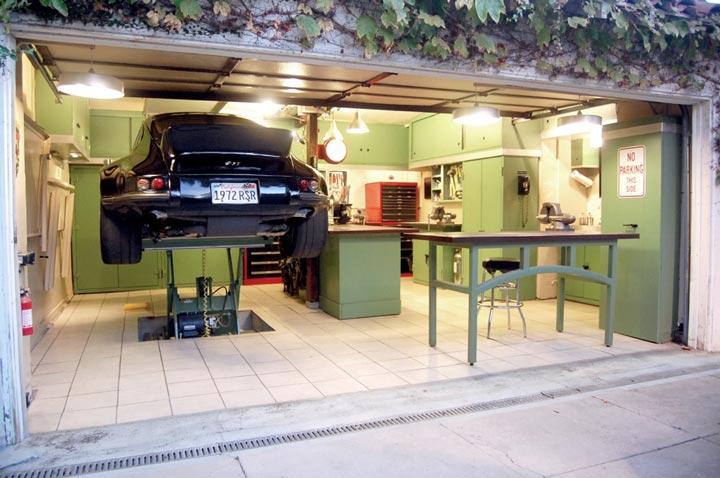 аккумуляторное освещение гаража