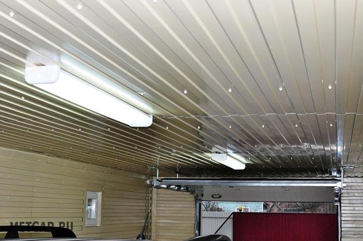 светодиодной освещение в гараже от аккумулятора