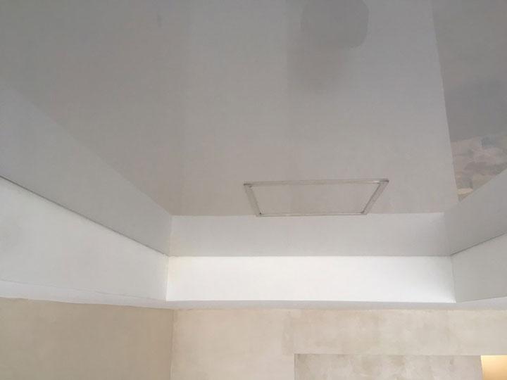 термокольцо для квадратного светильника лед панели в натяжном потолке