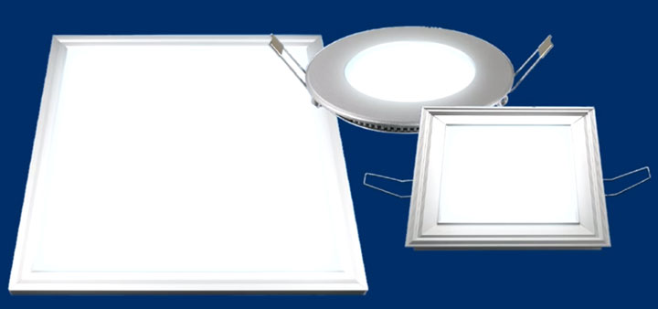 виды светодиодных панелей для дома
