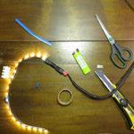 2 способа как соединить светодиодную ленту без пайки.