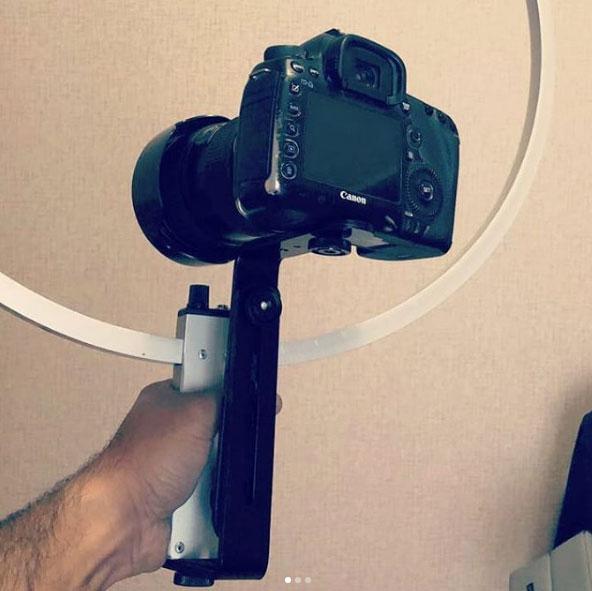кольцевой свет на фотокамеру